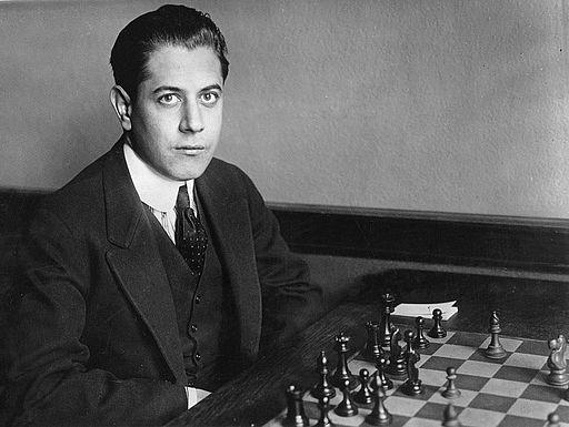 José Raúl Capablanca young