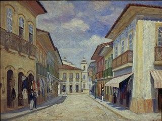 Rua Direita e Largo São Pedro no Páteo da Sé, 1858