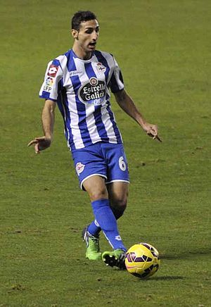 José Rodríguez Martínez - Rodríguez playing for Deportivo in 2014