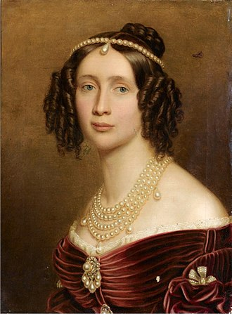 Maria Anna of Bavaria (1805–1877) - Painting by Stieler, 1842