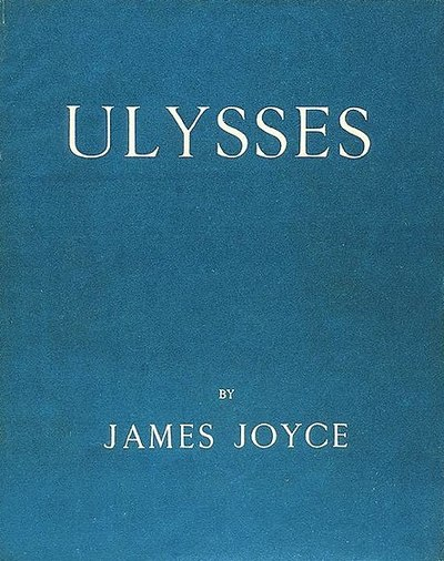 Picture of a book: Ulysses
