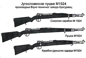 Zastava Arms - Yugo Mauser Model 1924.