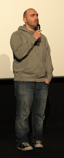Description de l'image Julien Leclercq at the premiere of the french movie l Assaut.jpg.