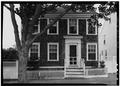 July, 1970 WEST ELEVATION - Matthew Beard House, 18 Orange Street, Nantucket, Nantucket County, MA HABS MASS,10-NANT,76N-2.tif