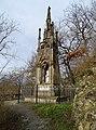 Křivoklát, pomník Karla Egona II., od jihu.jpg