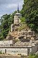 Kаменная ограда монастыря с башней.jpg