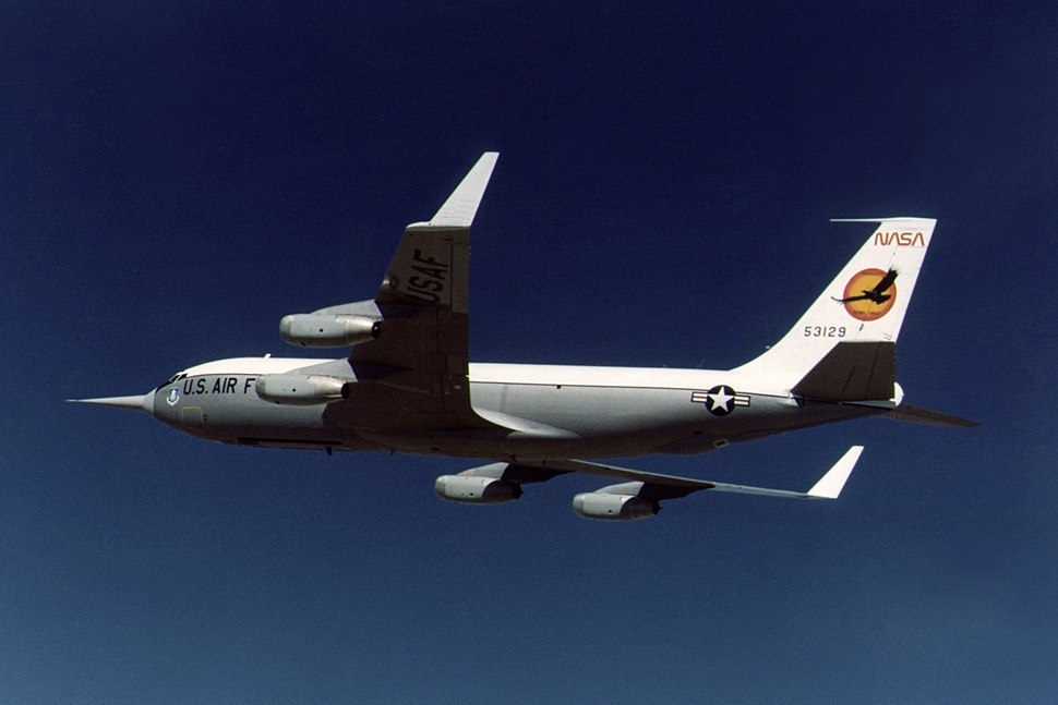 KC-135A with Winglets in flight