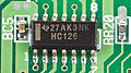 KVM Switch Equip SW 0407 C - Texas Instruments HC126 on printed circuit board-1817.jpg