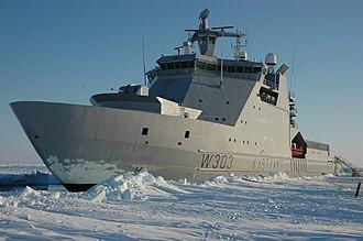 Harry DeWolf-class offshore patrol vessel - Image: KV Svalbard