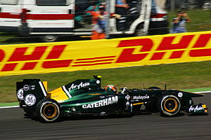 2011 Italian Grand Prix - Karun Chandhok drove for Team Lotus in the first free practice session.