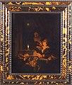 Kaarslichtje een slapende vrouw bij kaarslicht wordt belaagd door een handtastelijke, oude man, objectnr 11024-A-B.JPG