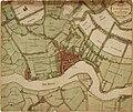Kaart van Rotterdam en omliggende landerijen, 18e eeuw.jpg
