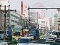 Kagoshima Shiden 9500 Kajiyacho Station 2013-03-15.jpg