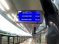 Kajang MRT station terminal signboard.jpg