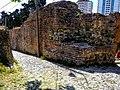 Kalaja në qytetin e Durrësit- muri rrethues 03.jpg