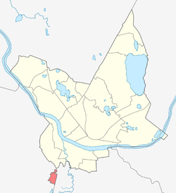Location of Kalkūni