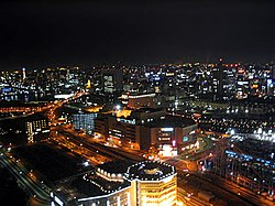 Night view of Kamata, Ōta