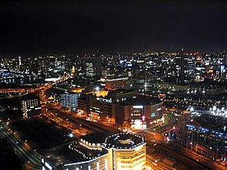 Ōta, Tokyo - Night view of Kamata, Ōta