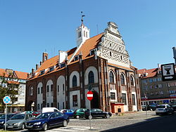 Kamień Pomorski Town Hall and Market Square
