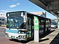 Kanto Railway Bus 9430MR at Moriya Station.jpg