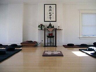 Kanzeon Zen Center - Image: Kanzeon Zen Center Zendo (Genpo Merzel)