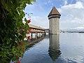 Kapellbrücke Lucerne Pont de la Chapelle Octobre 2020.jpg
