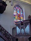 Kapucijnenkerk.brandraam