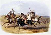 Karl Bodmer - Horse Racing of the Sioux (Source).jpg