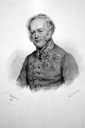 Ficquelmont family - Count Charles Louis de Ficquelmont