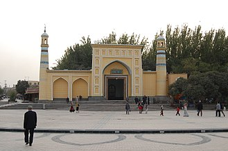 Kashgar Prefecture - Id Khar Mosque in Kashgar, Kashgar Prefecture