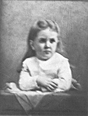 Ida Saxton McKinley - The portrait of Katie that hung on the wall of the McKinley house.
