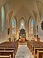 Katholische Pfarrkirche Hl Sebastian, Gosau Innenansicht.jpg