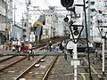 Keihan Korien Station platform - panoramio (27).jpg
