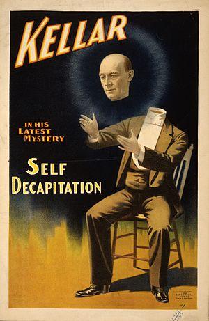 Harry Kellar - Kellar's famous decapitation and floating head conjuration