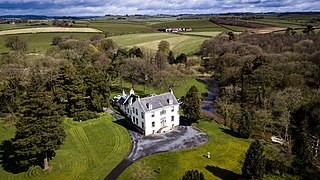 Kennox House house in East Ayrshire, Scotland, UK
