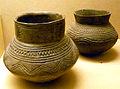 Kerbschnittgefäße Niederrheinische Grabhügelkultur (jüngere Bronzezeit 1200-800 v.u.Z.) Museum Burg Linn.jpg