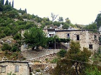 Kessab - Traditional Armenian house in Kessab