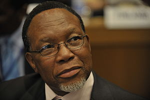 Kgalema Motlanthe, President of South Africa, ...