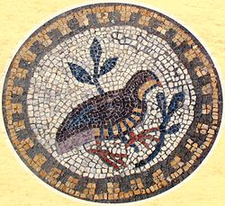 Душа Википедия Символ души птица на византийской мозаике православного храма vi века