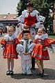 Kids enjoying the festival Jízda králů in Vlčnov.jpg
