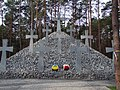 Kijów-Bykownia, zbiorowa mogiła ofiar terroru NKWD - collective grave of victims of NKWD terror - panoramio.jpg