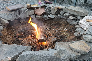 Campfire - Kindling to start a campfire