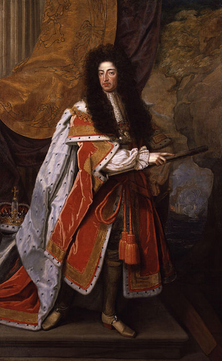 Portrait attributed to Thomas Murray, c. 1690 King William III by Thomas Murray.jpg