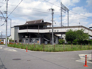 Kōdo Station (Kyoto) Railway station in Kyōtanabe, Kyoto Prefecture, Japan