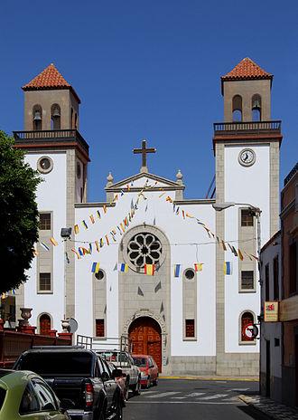 La Aldea de San Nicolás - The church of La Aldea de San Nicolás