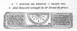 Tostig Godwinson - Image: Kirkdale Sundial
