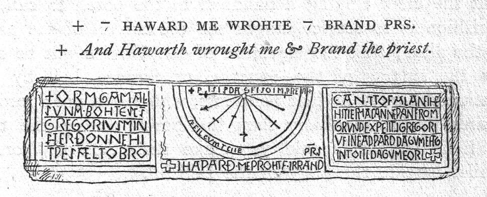 Kirkdale Sundial