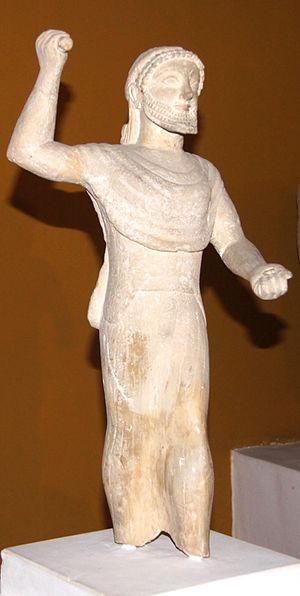 Kition - Zeus Keraunios, 500-480 BC, Nicosia museum