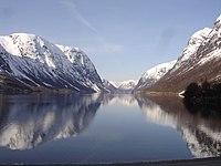 Kjosnesfjorden in Songefjord
