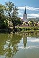 Klagenfurt Viktring Stiftskirche NO-Ansicht 23092017 1165.jpg
